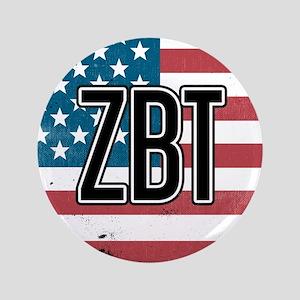 Zeta Beta Tau Flag Button