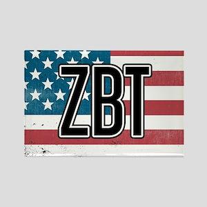 Zeta Beta Tau Flag Magnets
