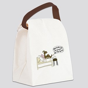Mama Goat and Duckter Canvas Lunch Bag