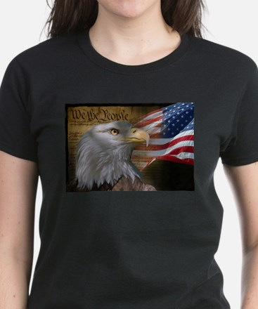 We The People Women's Dark T-Shirt