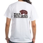 Walk with Ursus White T-Shirt