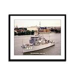 USS IMPERVIOUS Framed Panel Print