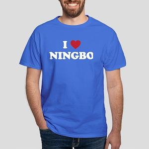 I Love Ningbo Dark T-Shirt