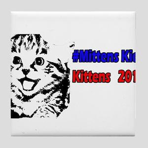 Mittens2 Tile Coaster