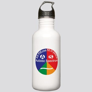 Autistic Spectrum Stainless Water Bottle 1.0L