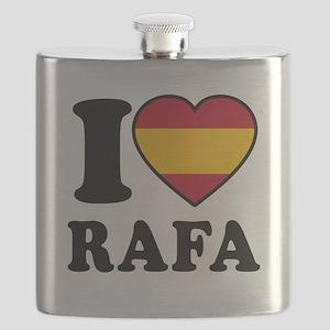 I Love Rafa Nadal Flask