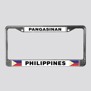 Pangasinan Philippines License Plate Frame