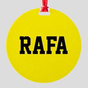 Rafa Round Ornament