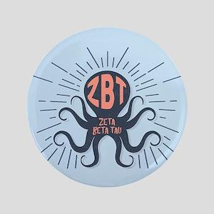 Zeta Beta Tau Octopus Button