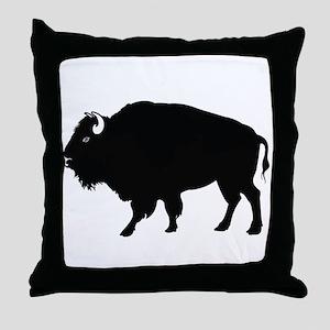 Tatanka designs Throw Pillow