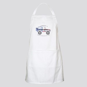 You're not driving a Jeep, are you? Apron