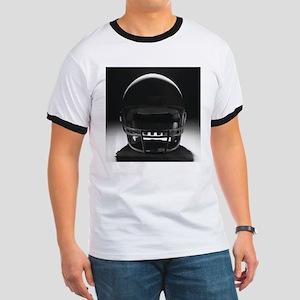 Football Helmet Ringer T