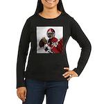 Football Players Women's Long Sleeve Dark T-Shirt