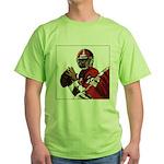 Football Players Green T-Shirt