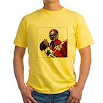 Football Players Yellow T-Shirt
