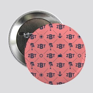 "Zeta Beta Tau Pattern Coral 2.25"" Button (10 pack)"