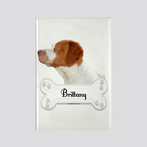 Brittany 3 Rectangle Magnet