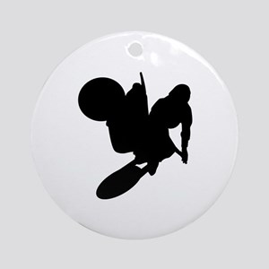 Motorcross Ornament (Round)