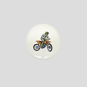 Motorcross Mini Button