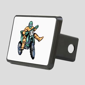 Motorcross Rectangular Hitch Cover