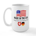 Swiss German Parts Large Mug