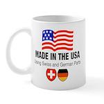 Swiss German Parts Mug