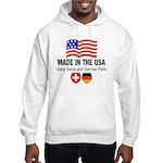 Swiss German Parts Hooded Sweatshirt