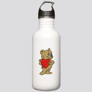 Heart Stainless Water Bottle 1.0L