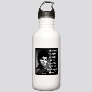 Wells Truth Quote 2 Stainless Water Bottle 1.0L