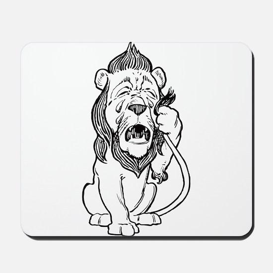 Cowardly Lion Mousepad