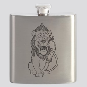 Cowardly Lion Flask