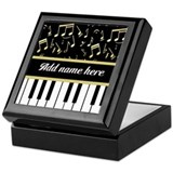 Piano Square Keepsake Boxes