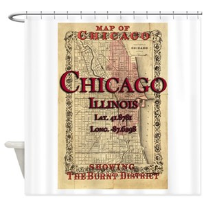 Chicago Fire Department Shower Curtains