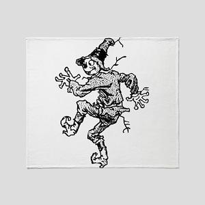 Scarecrow Skanking Throw Blanket