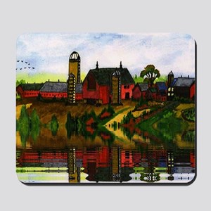 Painting The Farm Mousepad