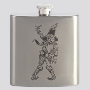 Scarecrow Waving Flask