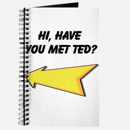 Hi Have You Met Ted? Journal