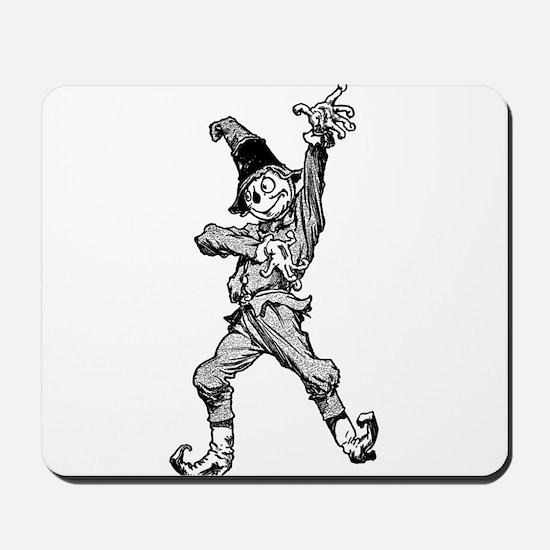 Scarecrow Dancing Disco Style Mousepad