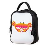 Mandy Crab Neoprene Lunch Bag
