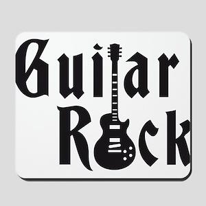 e-guitar rock Mousepad