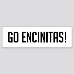 Go Encinitas Bumper Sticker