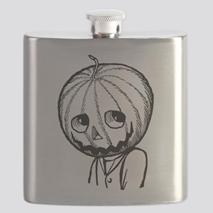 Jack Pumpkinhead Flask