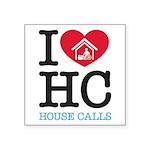 I Heart House Calls Sticker