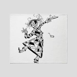 Patchwork Girl of Oz Throw Blanket