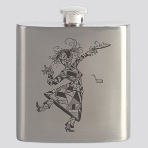 Patchwork Girl of Oz Flask