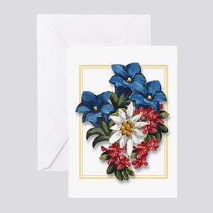 Alpine Flowers Greeting Cards (Pk of 10)