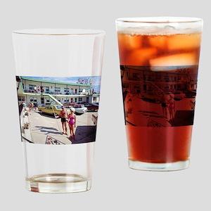 Rest Cove Motel Wildwood, NJ 1960s Drinking Glass