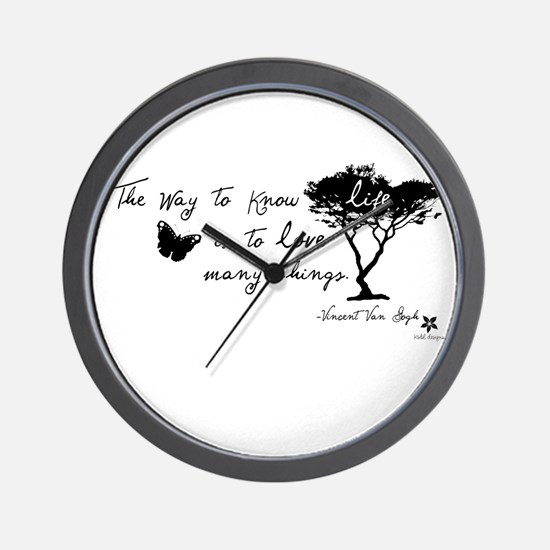 Vincent Van Gogh Wall Clock