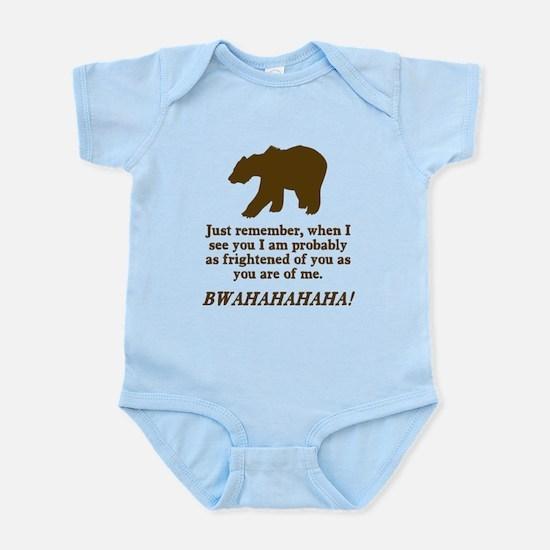 Bears Are Just As Afraid Infant Bodysuit