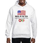 Swiss Italian Parts Hooded Sweatshirt